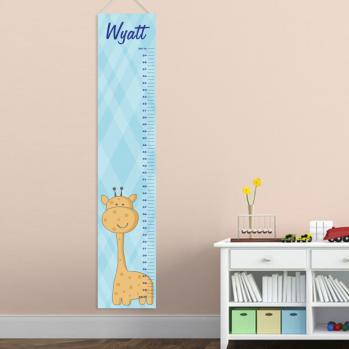 Boy Giraffe Growth Chart