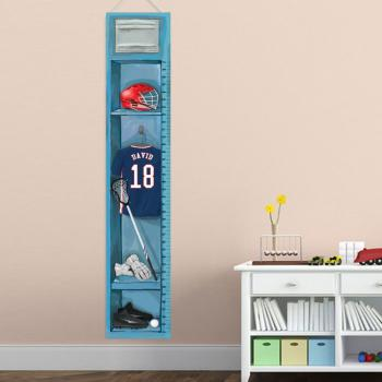 Personalized Lacrosse Growth Chart