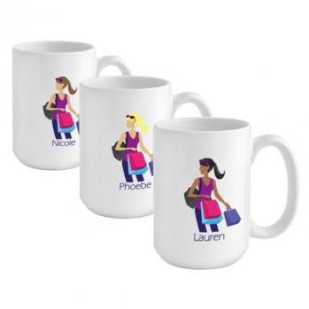 Coffee Mug - Shopping