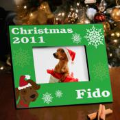 Christmas_Frame_for_Pet_Dog