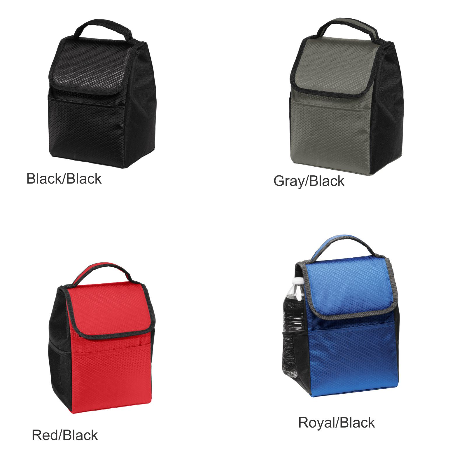 Lunch Bags Color Chart