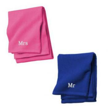 Mr Mrs Beach towels